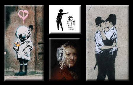 Free Images from the Banksy Shop