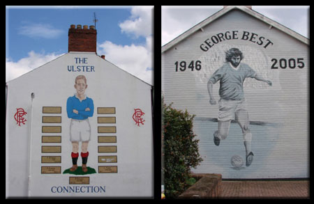 Soccer Players as the New Heroes of Belfast