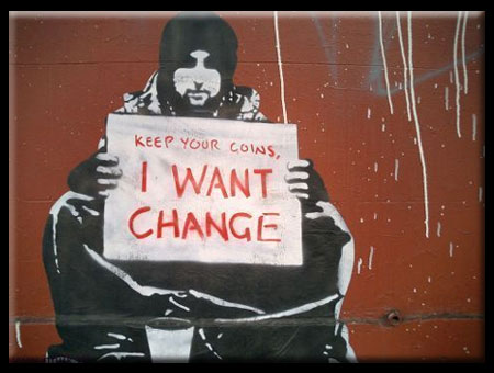 I Want Change - Urban Street Art Image