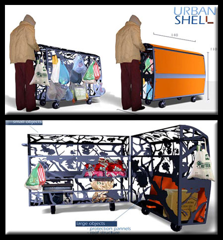 Urban Shell Shelter